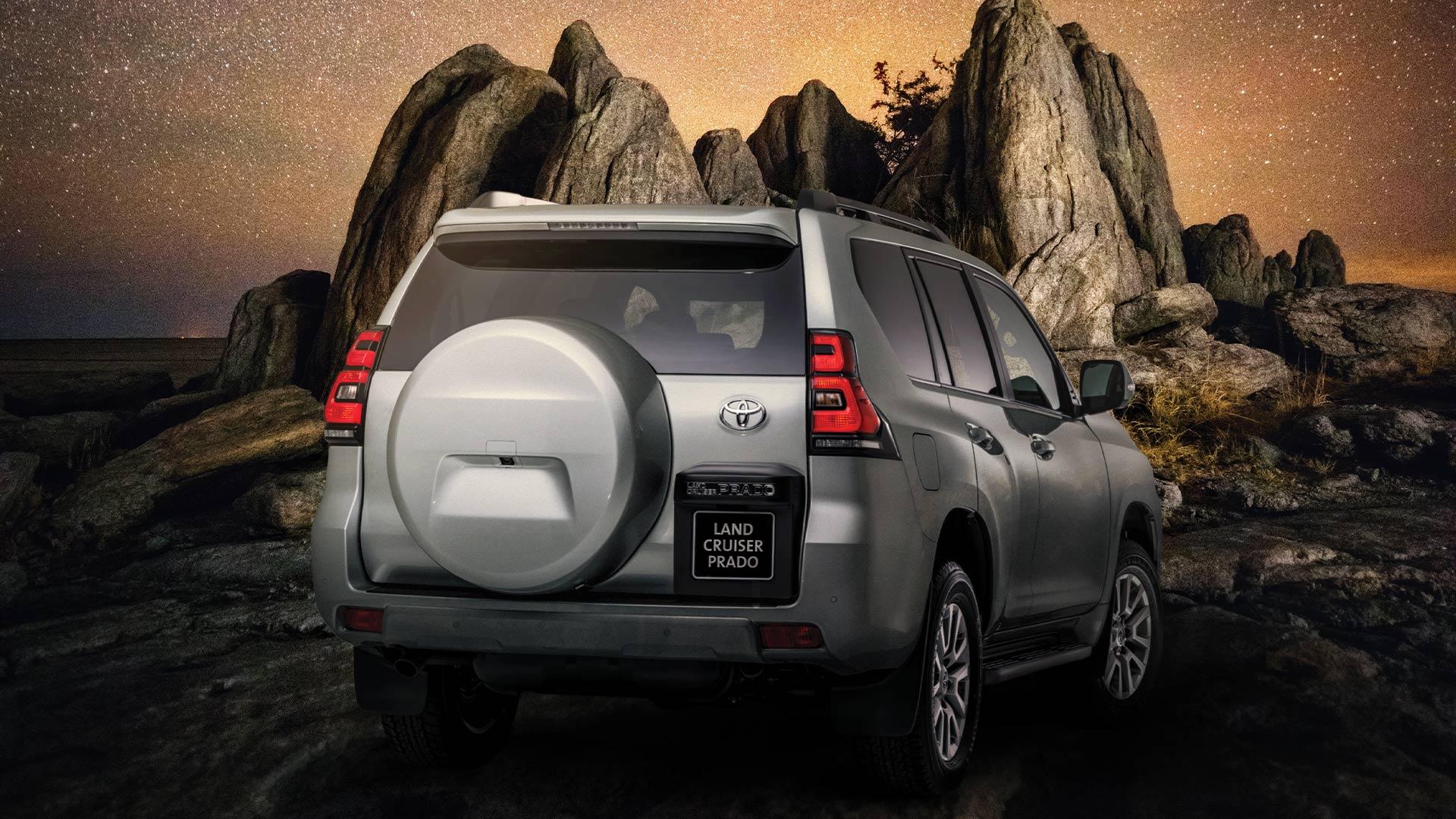 Toyota unveils the new Land Cruiser Prado