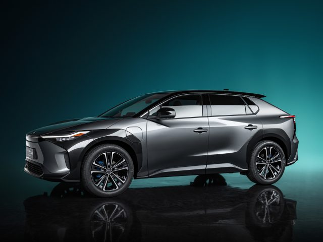 Toyota bZ4X concept has been unveiled