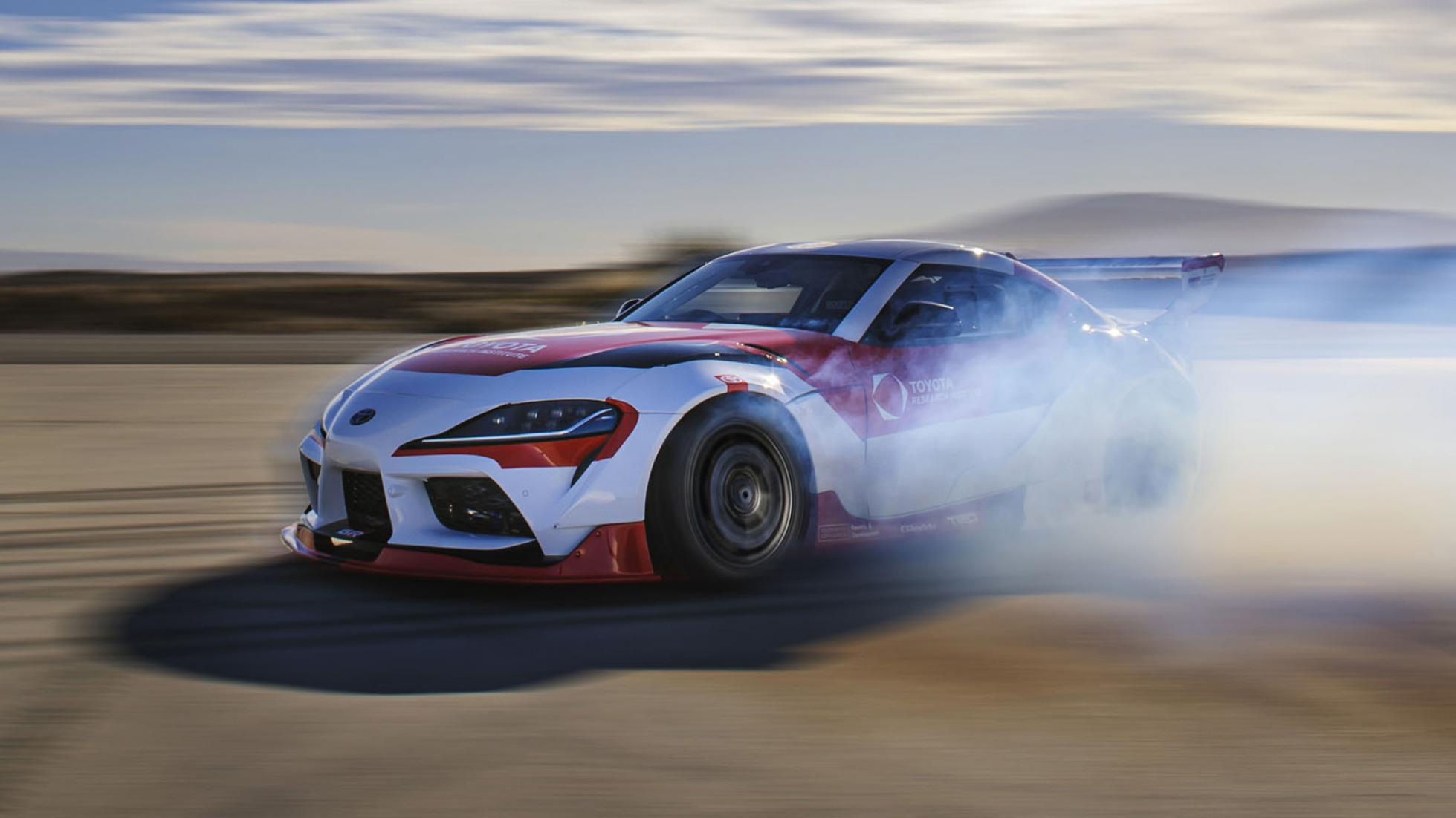 Toyota made a car that can drift by itself