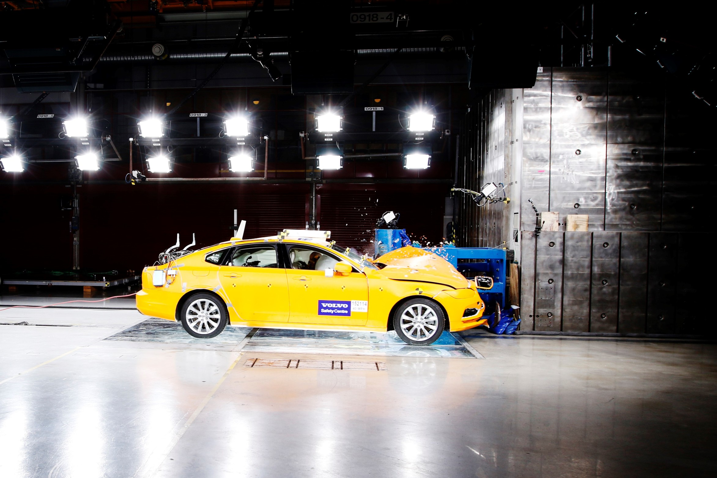 Volvo celebrates 20 years of crashing cars in the name of safety