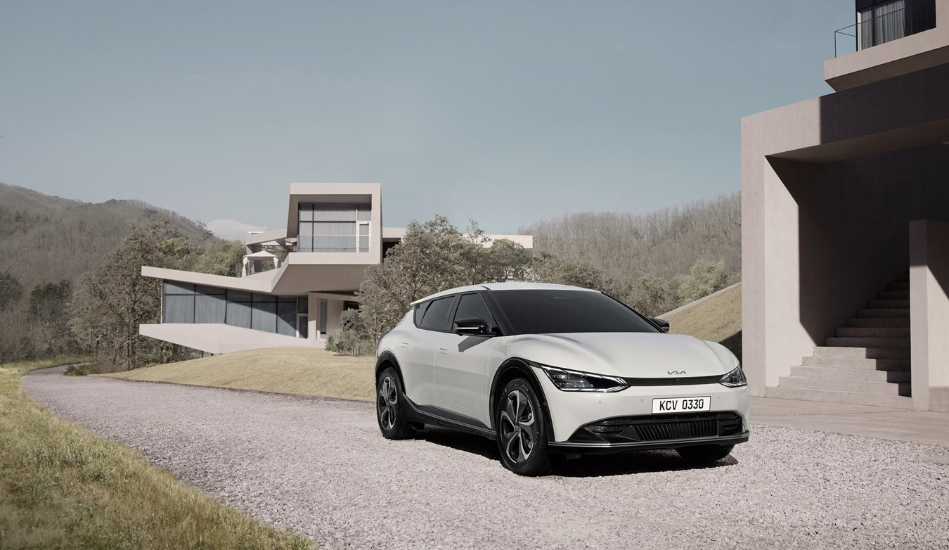 KIA unveils its new design philosophy with the EV6