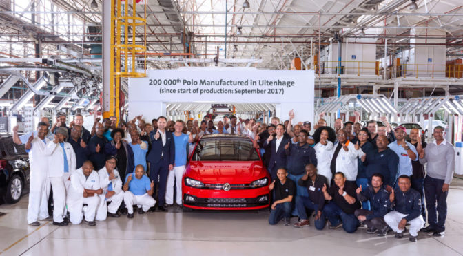 200 000th Volkswagen Polo rolls off production line