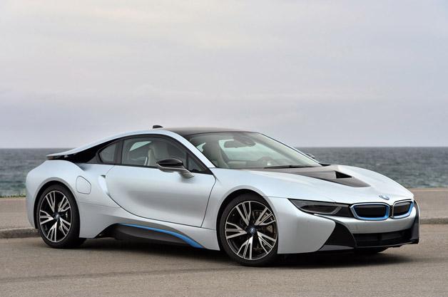 BMW electric cars - i8