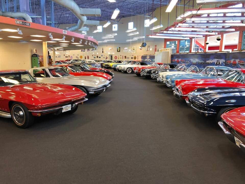 One of the world's largest muscle car museums is hosting a huge auction