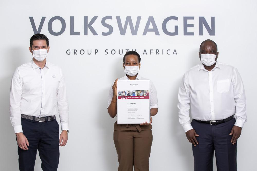 Volkwagen SA's Rachel Kobo named Best Apprentice for 2020