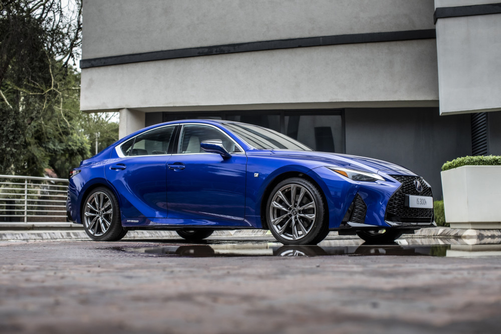 South African line-up for new 2021 Lexus IS sports sedan has been unveiled
