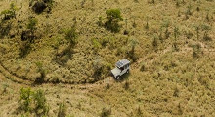 Electric safari vehicle donated to conservation efforts in Kenya