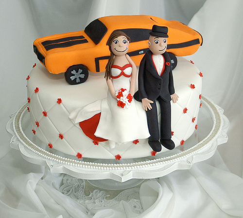 worst wedding cake toppers the worst car related wedding cakes 27654