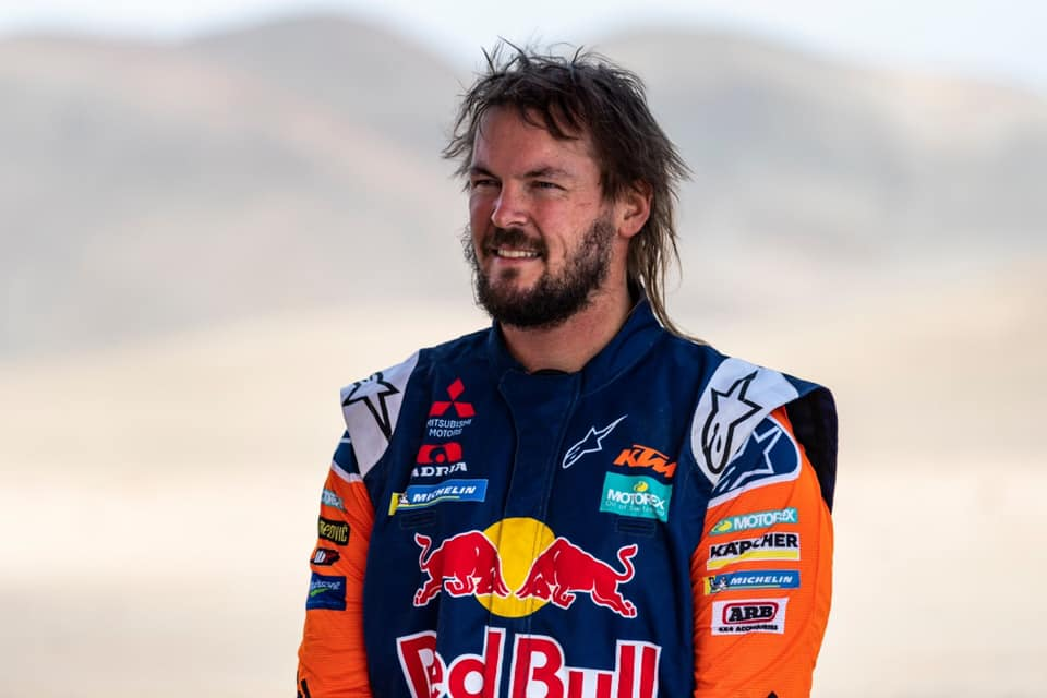 Toby Price rushed to hospital after Daka Rally crash