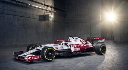 Alfa Romeo Racing reveals its 2021 F1 vehicle, the C41