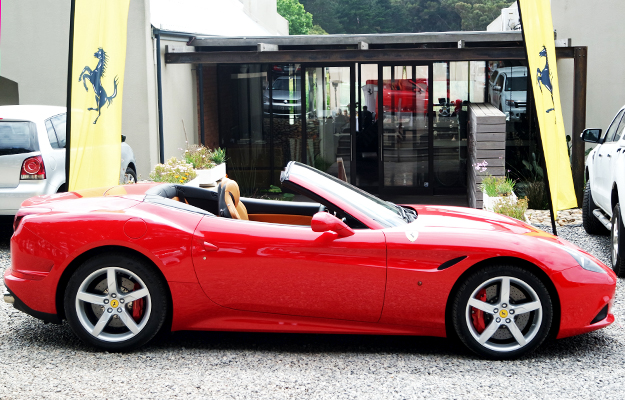 The beautiful Ferrari California T