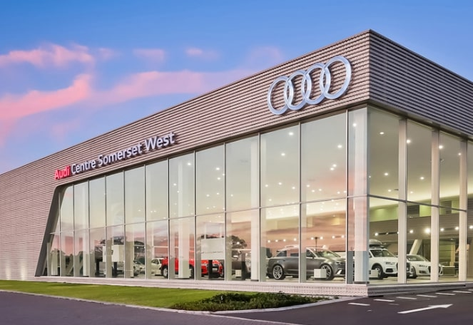 Four luxury vehicles stolen from Audi dealership in Somerset West