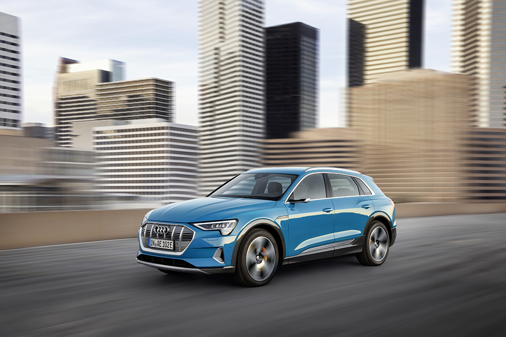 Audi e-tron   eco-conscious