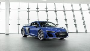 "Delivery of the upgraded Audi R8 V10 has begun for ""VIP customers"""