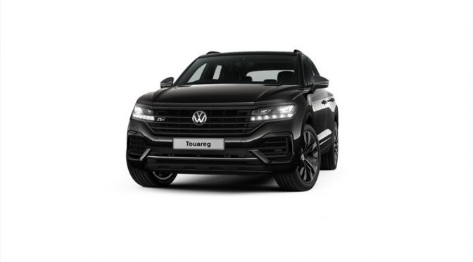 Black Style Packages for the Volkswagen Touareg and Tiguan models