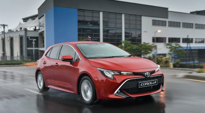Car Review: New Toyota Corolla Hatch