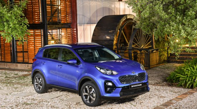 Car Review: Updated KIA Sportage