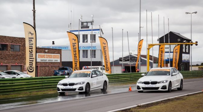 Continental Tyre test at Aldo Scribante race track