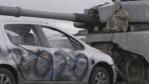 Crush old cars with army tanks at the UK's 'Rage Yard'