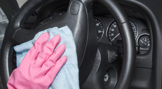 Disinfect | car | coronavirus | covid-19 | hygiene | how to