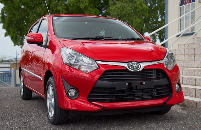 New Toyota Agya on its way to South Africa