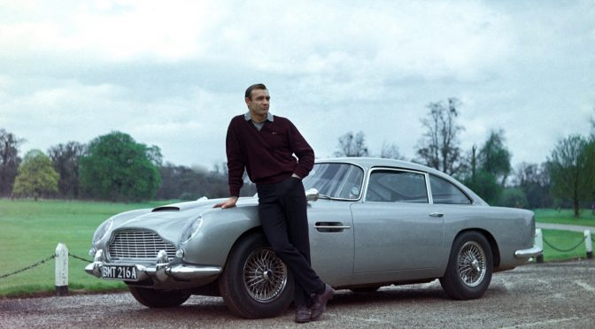 James Bond's Aston Martin DB5 goes on sale