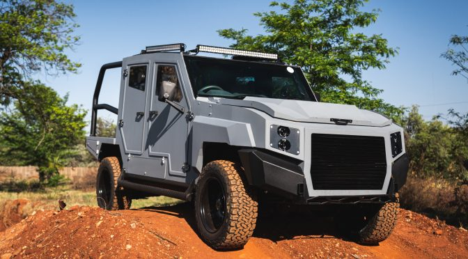 Check out this SA built armoured bakkie