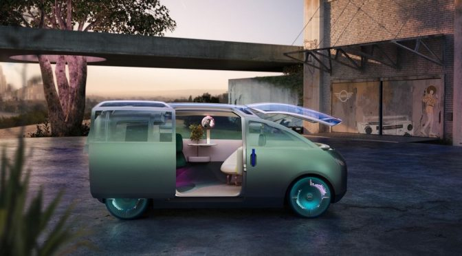 BMW releases Mini Vision Urbanaut concept car