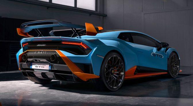 Lamborghini's new Huracán STO features three driving modes