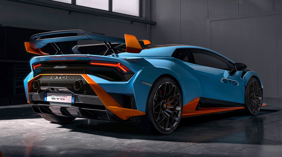 Lamborghini's new Huracán STO features three driving modes