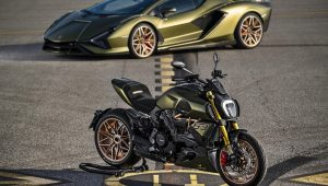 Ducati and Lamborghini co-create the ultimate superbike
