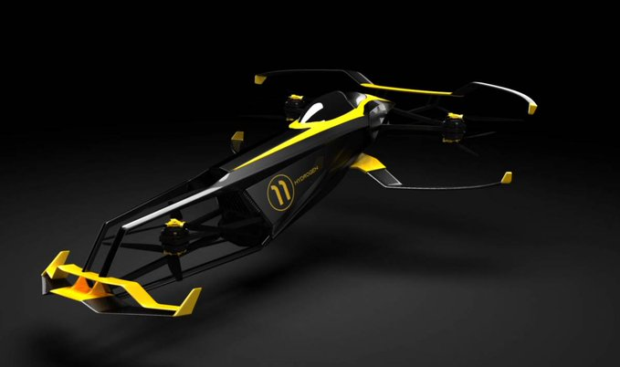 The Carcopter could be the future of Formula One