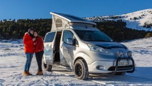 Nissan's electric camper van is the stuff of dreams