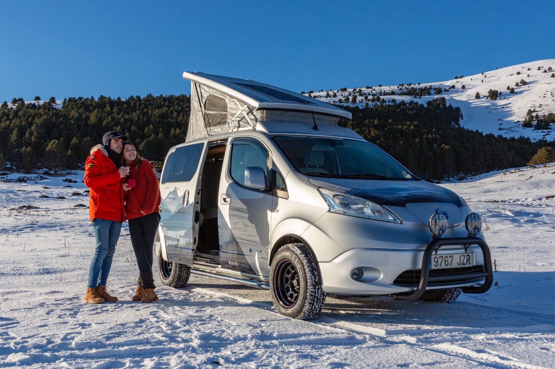 Nissan's electric camper van is the stuff of dreams