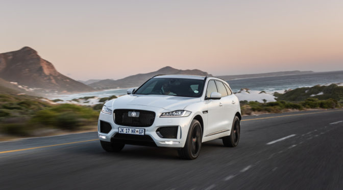 F-Pace Chequered Flag   special edition   SUV
