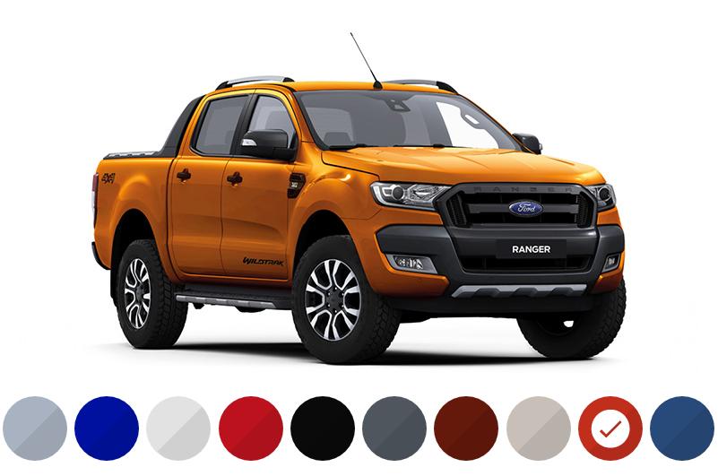 ford ranger color codes 2017