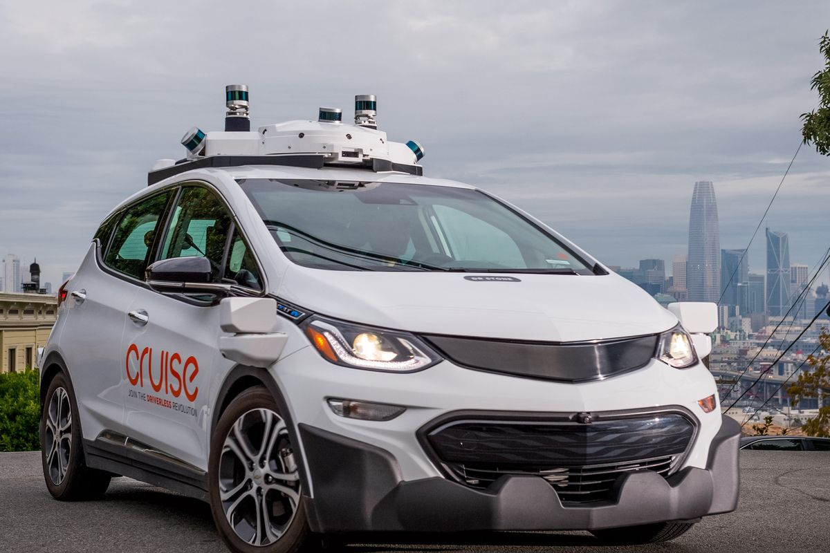Driverless cars take the streets of San Francisco