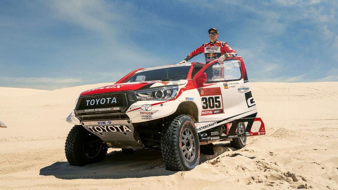 Giniel de Villiers Toyota Gazoo Racing South Africa