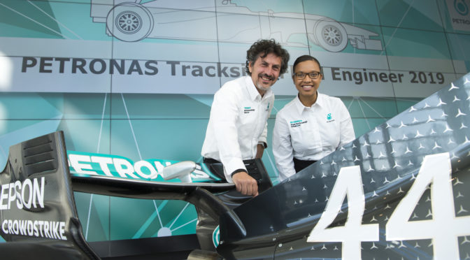 Petronas Trackside Fluid Engineer | Women in motorsport