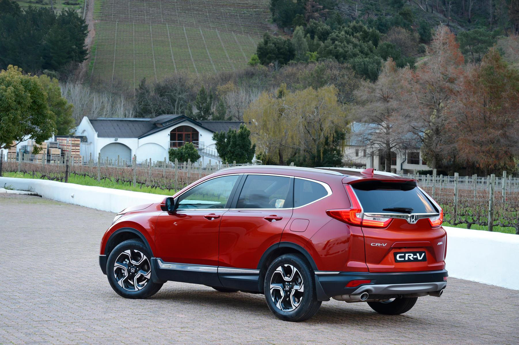 New Honda CR-V
