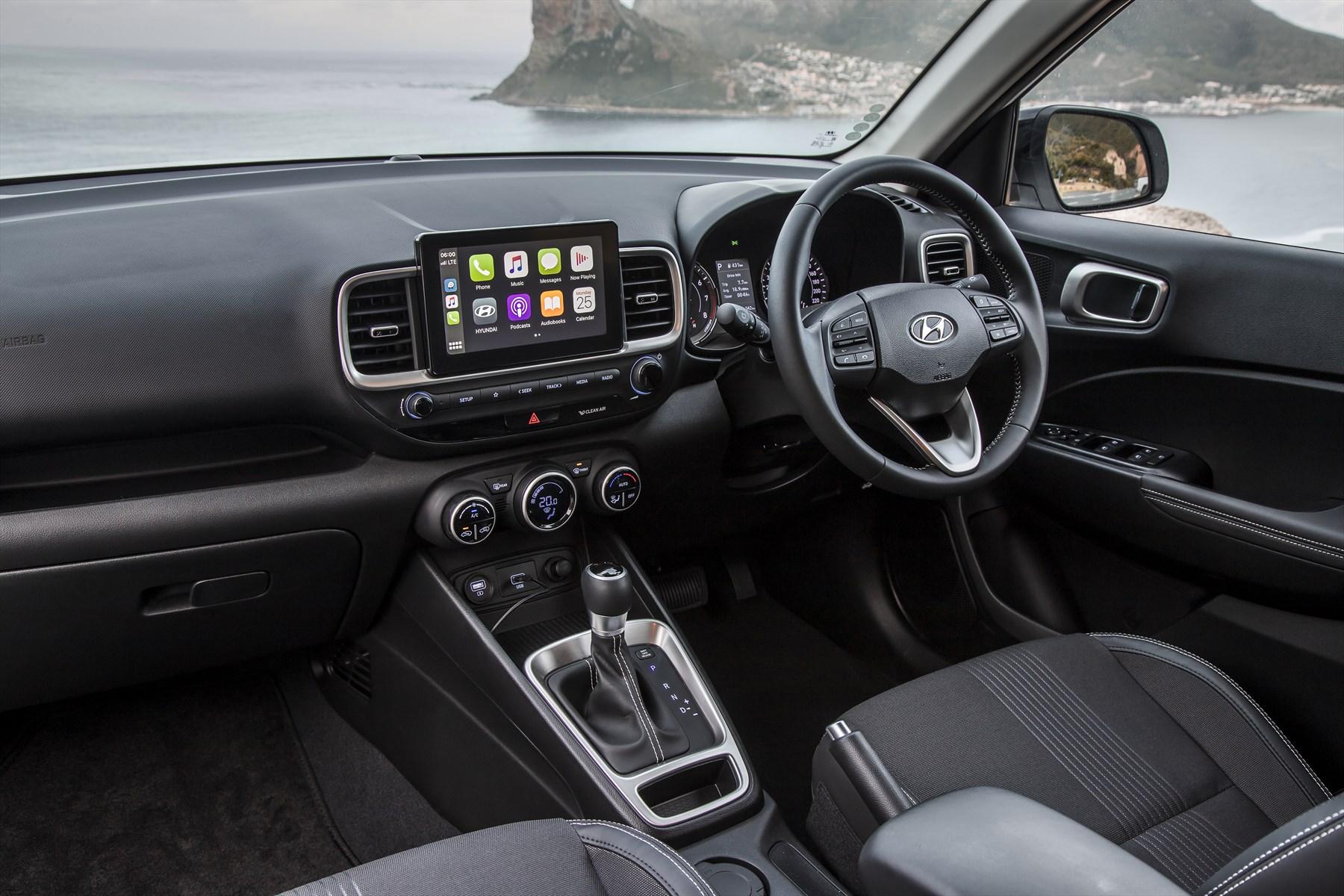 Hyundai Venue | interior | compact SUV