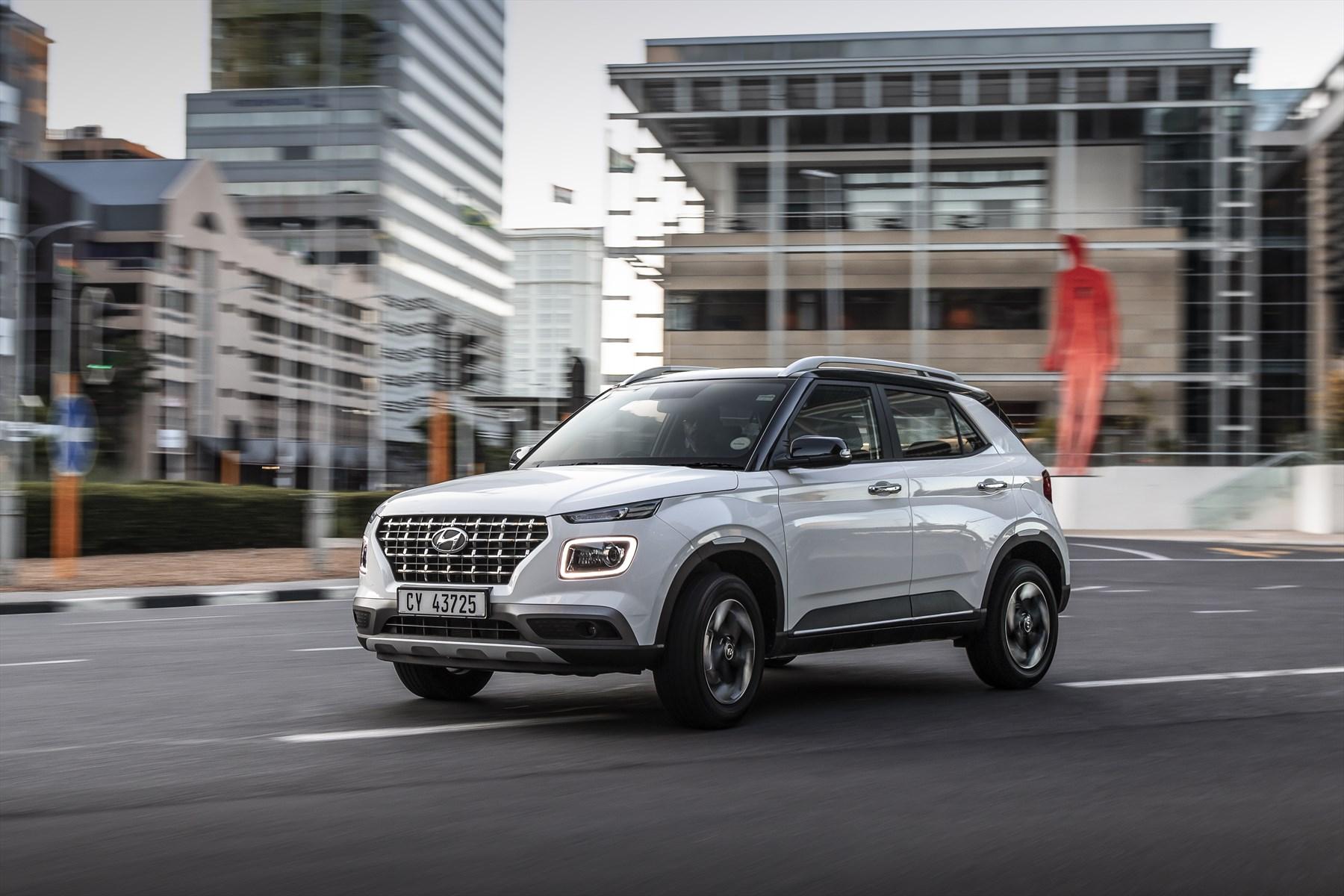 Hyundai Venue | compact SUV | 1.0-litre turbocharged