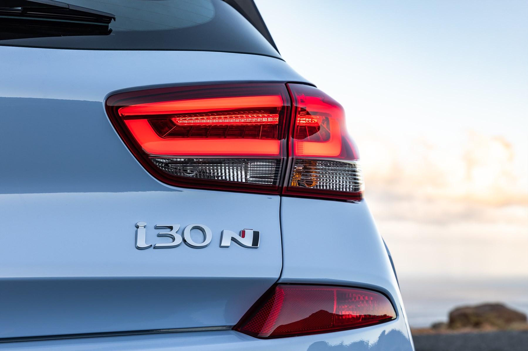 Hyundai i30 N badge | hot hatch | performance hatch