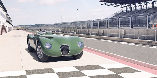 Jaguar Classic is celebrating 70 years of the C-type
