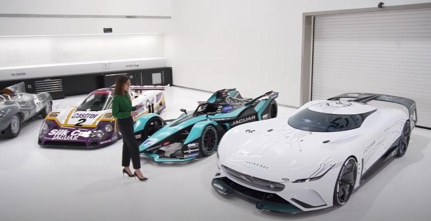Jaguar unveils new virtual car for racing game