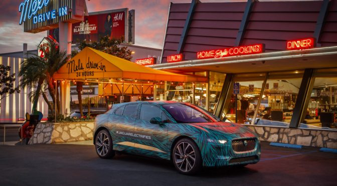 Jaguar I-PACE completes final testing in Los Angeles ahead of 2018 reveal