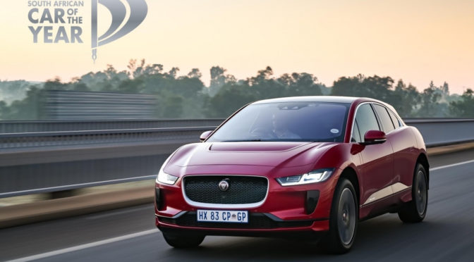 Jaguar I-PACE | South African Car Of The Year | 2020 | electric