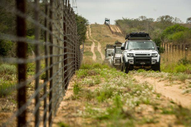 Kingsley Holgate Foundation, Land Rover Defender feeds thousands