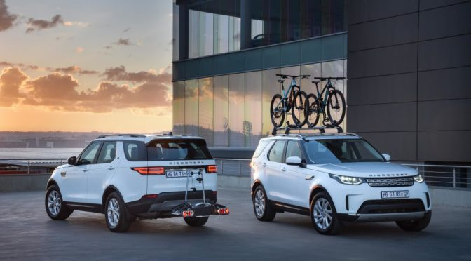 Land Rover South Africa introduces Cycling Pack for the new Discovery
