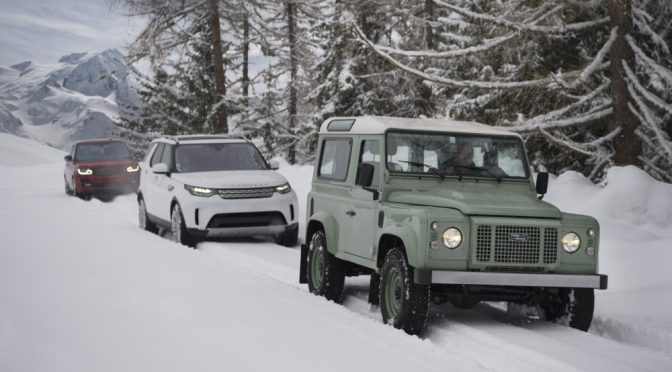 Land Rover takes Defender to new heights, again